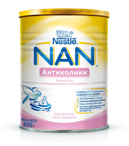 NAN Комфорт Суха молочна суміш з народження 400 г 1 банка