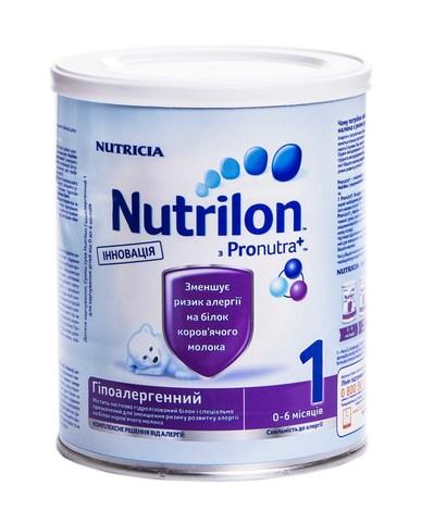 Nutrilon Гіпоалергенний 1 Суміш молочна 0-6 місяців 400 г 1 коробка