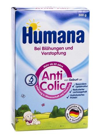 Humana АнтиКолік Молочна суміш від народження 300 г 1 коробка