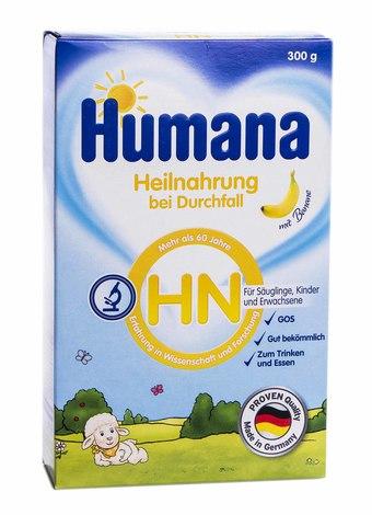 Humana HN Лікувальна молочна суміш від народження 300 г 1 коробка