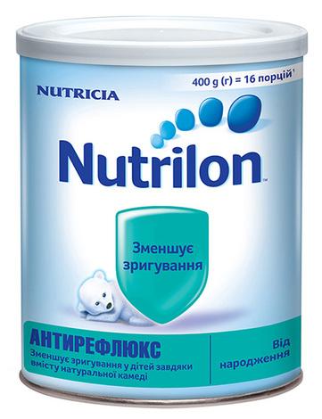 Nutrilon Антирефлюкс Суміш молочна від народження 400 г 1 банка