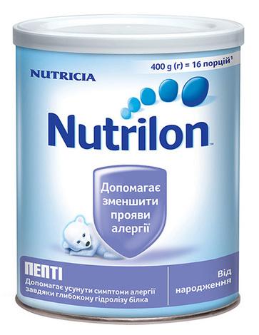 Nutrilon Пепті Суміш молочна від народження 400 г 1 банка