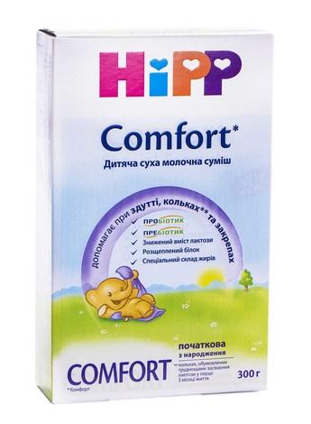 HiPP Комфорт Суміш молочна з народження 300 г 1 коробка