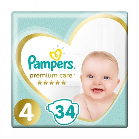 Pampers Premium Care 4 Maxi Підгузки дитячі 9-14 кг 34 шт
