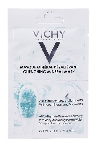 Vichy Маска мінеральна зволожуюча для шкіри обличчя 2х6 мл 1 шт