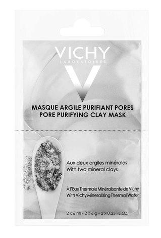 Vichy Маска мінеральна з глиною що очищує пори обличчя 2х6 мл 1 шт