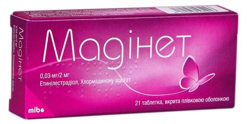 Мадінет таблетки 21 шт