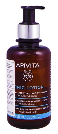 Apivita Cleansing Лосьйон для обличчя заспокійливий та зволожуючий з лавандою і медом 200 мл 1 флакон
