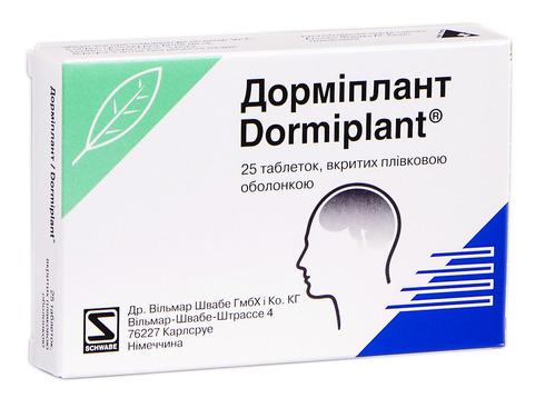 Дорміплант таблетки 25 шт