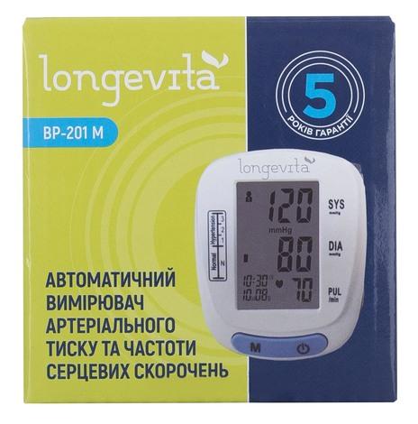 Longevita ВР-201М Тонометр автоматичний 1 шт