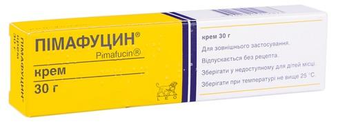 Пімафуцин крем 20 мг/г 30 г 1 туба