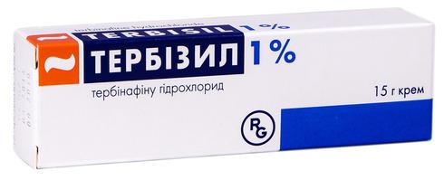Тербізил крем 1 % 15 г 1 туба