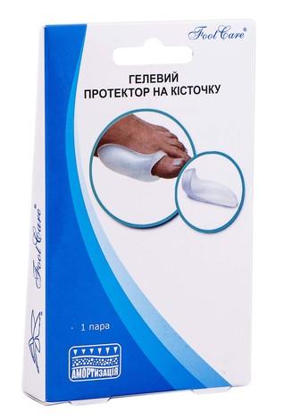 Foot Care GB-01 Гелевий Протектор на кісточку розмір S 1 пара