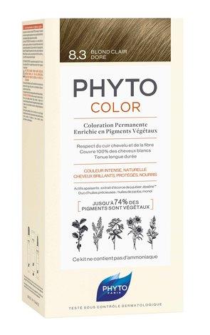 Phyto Color Крем-фарба тон №8.3 світло-русий золотистий 1 комплект