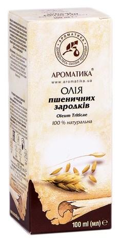 Ароматика Олія пшеничних зародків 100 мл 1 флакон
