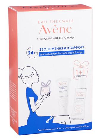 Avene Hydrance Light емульсія 40 мл + міцелярний лосьйон 100 мл 1 набір