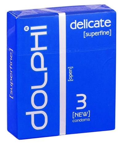 Dolphi Презервативи Delicate 3 шт