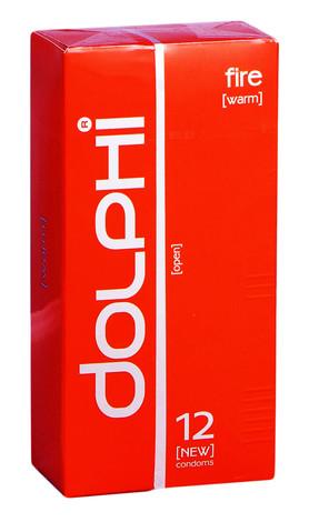 Dolphi Презервативи Fire 12 шт