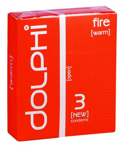 Dolphi Презервативи Fire 3 шт