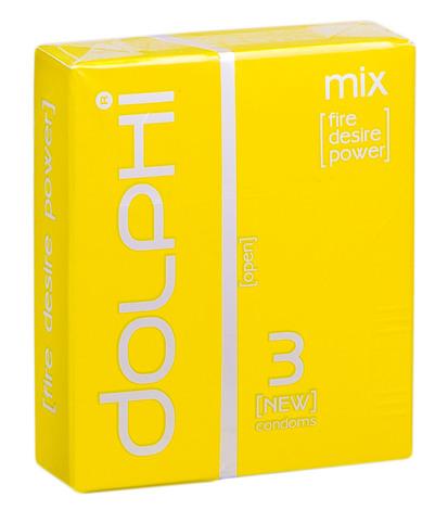 Dolphi Презервативи Mix 3 шт