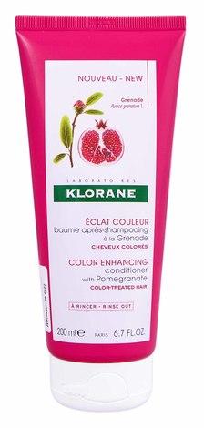 Klorane Бальзам-ополіскувач захист кольору з гранатом для фарбованого волосся 200 мл 1 туба