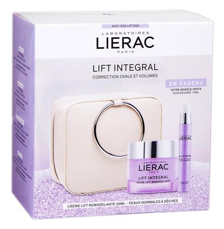 Lierac Lift Integral крем-ліфтинг 50 мл + сироватка-ліфтинг для контуру очей 15 мл 1 набір