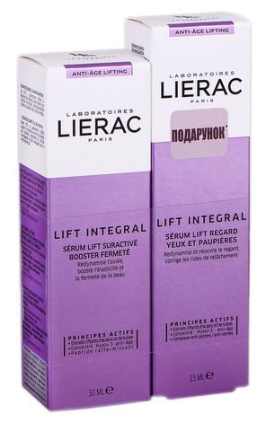 Lierac Lift Integral сироватка-бустер 30 мл + сироватка-ліфтинг для контуру очей 15 мл 1 набір
