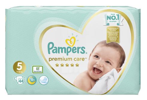 Pampers Premium Care 5 Junior Підгузки дитячі 11-16 кг 44 шт