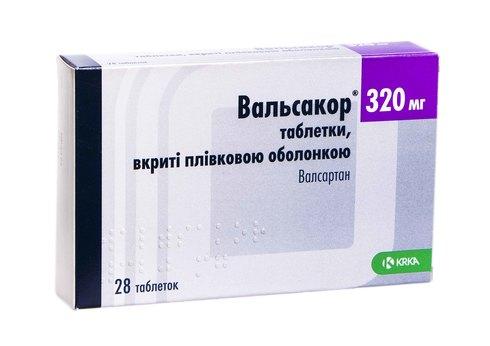 Вальсакор таблетки 320  мг 28 шт
