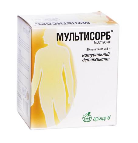 Мультисорб порошок для орального розчину 20 пакетів