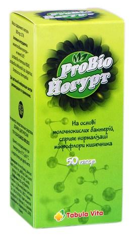 Tabula Vita Йогурт ProBio капсули 50 шт