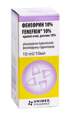 Фенефрин краплі очні 10 % 10 мл 1 флакон