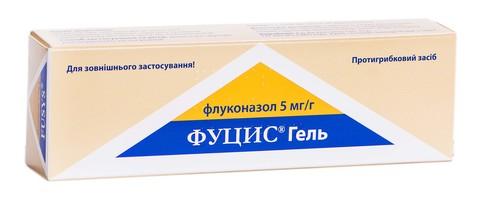 Фуцис гель 5 мг/г 30 г 1 туба