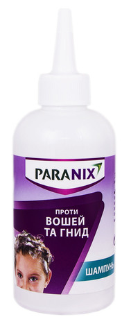 Paranix Шампунь проти вошей та гнид + гребінець шампунь 200 мл 1 флакон