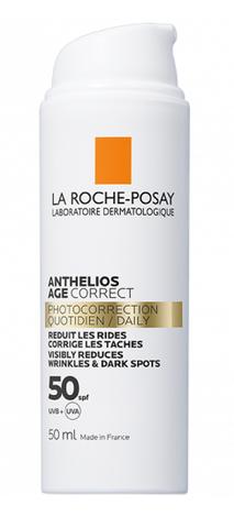 La Roche-Posay Anthelios Засіб антивіковий сонцезахисний для обличчя проти зморшок та пігментації SPF50 50 мл 1 флакон