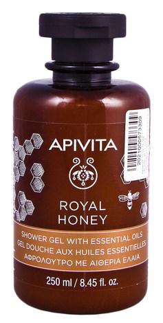 Apivita Крем-гель для душу з ефірними оліями Королівський мед 250 мл 1 флакон