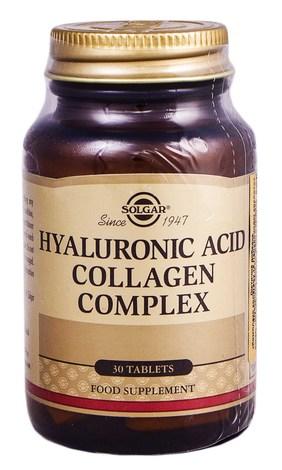 Solgar Комплекс колагену та гіалуронової кислоти таблетки 30 шт
