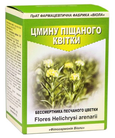 Цмину піщаного квітки Віола 50 г 1 пачка