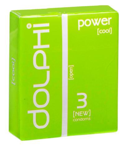 Dolphi Презервативи Power 3 шт