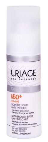 Uriage Depiderm Догляд денний проти пігментних плям SPF-50+ 30 мл 1 флакон