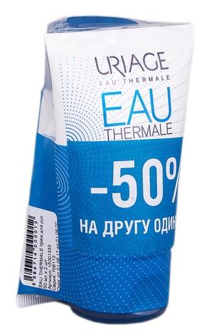 Uriage Eau Thermale Крем для рук Дуо 2х50 мл 1 набір