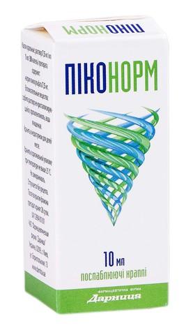 Піконорм краплі оральні 7,5 мг/мл 10 мл 1 флакон