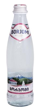 Borjomi Вода мінеральна сильногазована 0,33 л 1 пляшка
