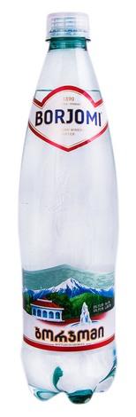Borjomi Вода мінеральна сильногазована 0,75 л 1 пляшка
