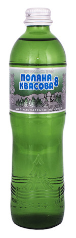 Поляна Квасова Вода мінеральна лікувально-столова сильногазована 0,5 л 1 пляшка