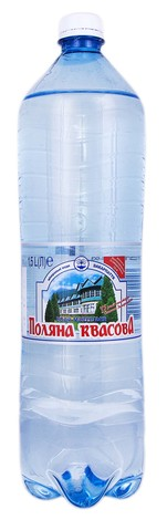 Поляна Квасова Вода мінеральна сильногазована 1,5 л 1 пляшка
