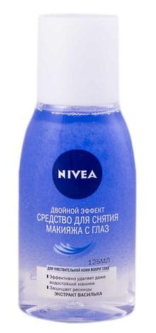 Nivea Засіб для зняття макіяжу з очей Подвійний ефект 125 мл 1 флакон