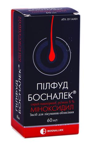 Пілфуд Босналек спрей нашкірний 5 % 60 мл 1 флакон
