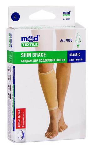 MedTextile 7605 Бандаж для підтримки гомілки еластичний розмір L 1 шт