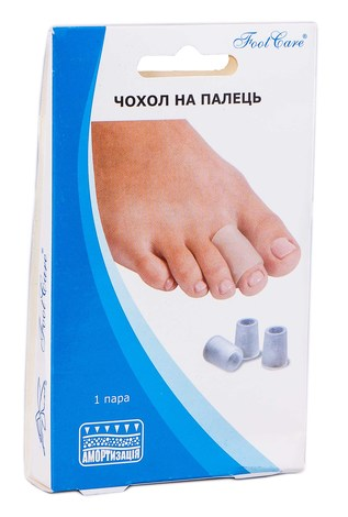 Foot Care SA-9016А Чохол на палець розмір M 1 пара